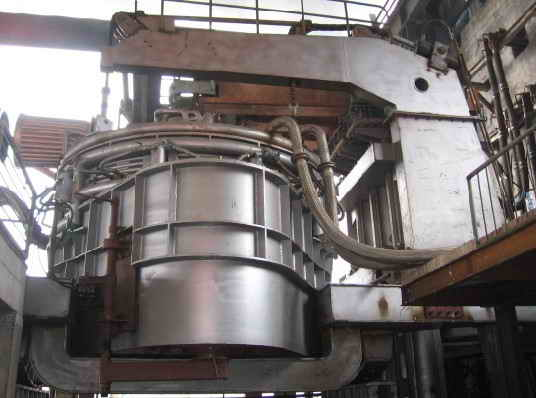 10t electric arc furnace