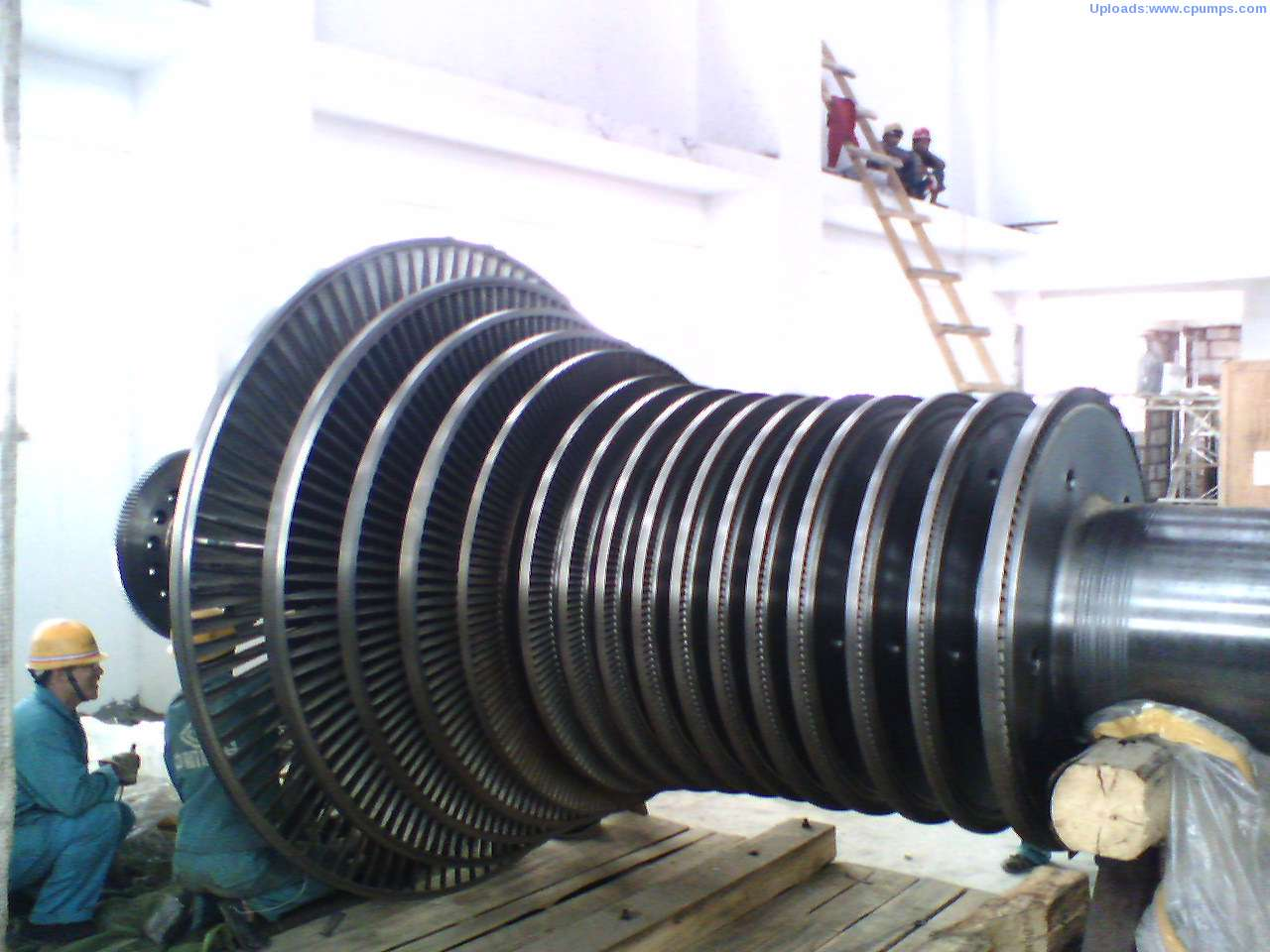 Steam turbine shaft