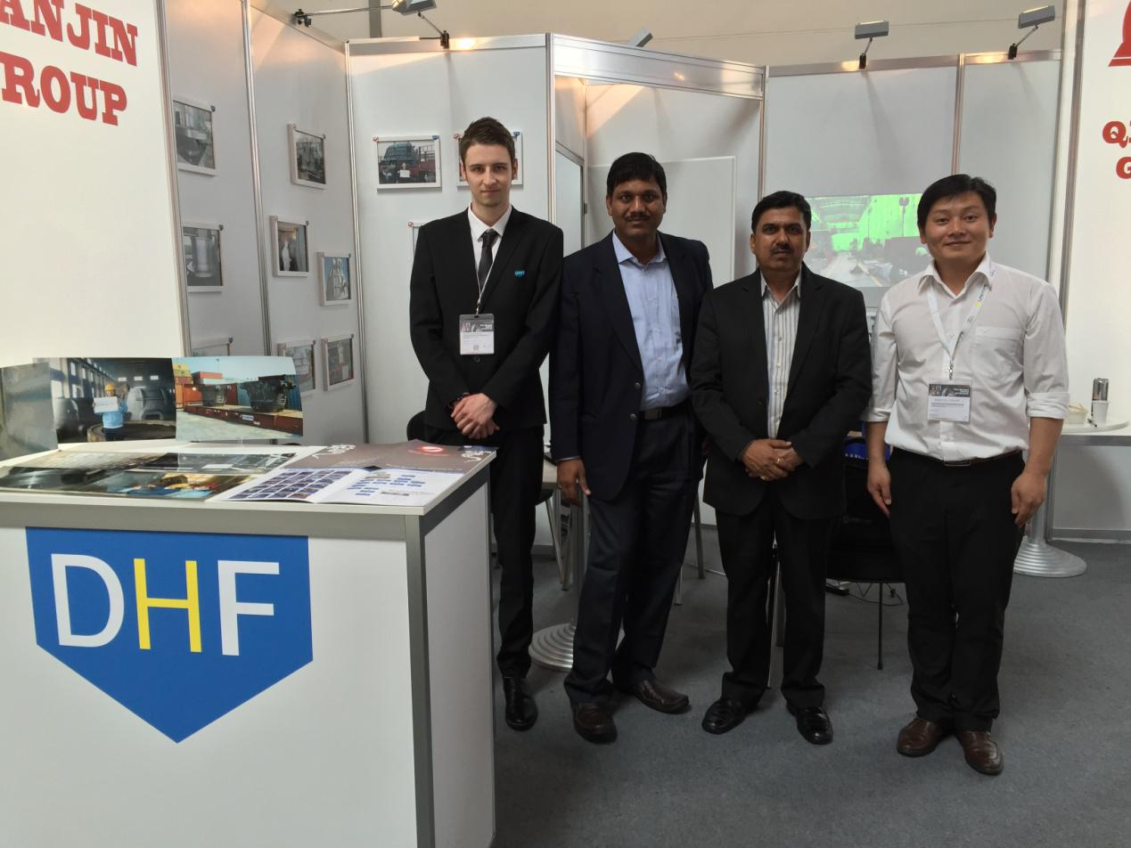 D Exhibition China : Dhf china in international exhibition of metallurgy